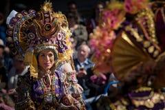 Baile en carnaval foto de archivo
