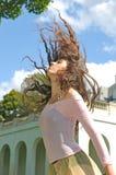 Baile en el jardín Imagen de archivo libre de regalías