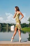 Baile en el lago Imagen de archivo