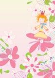 Baile en Flower_eps ilustración del vector