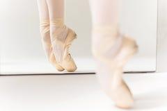 Baile en Pointe imagenes de archivo