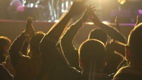 Baile en un concierto metrajes