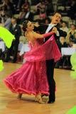 Baile estándar del salón de baile Imagen de archivo libre de regalías