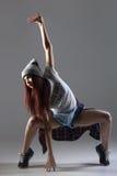 Baile fresco de la muchacha Foto de archivo libre de regalías