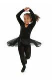 Baile hermoso de la muchacha Imagen de archivo libre de regalías