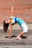 Baile hip-hop del adolescente Imágenes de archivo libres de regalías