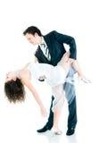 Baile joven de los pares Fotografía de archivo libre de regalías