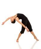 Baile joven del bailarín Imagen de archivo libre de regalías