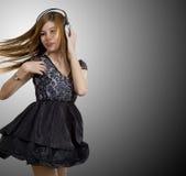 Baile a la música Fotografía de archivo