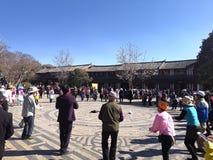 baile, Lijiang imagen de archivo libre de regalías