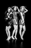 Baile magnífico de las mujeres Foto de archivo libre de regalías
