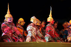 Baile tailandés Fotografía de archivo