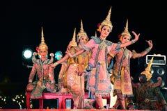 Baile tailandés Imagenes de archivo