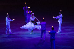 Baile Veracruzano Arkivbilder
