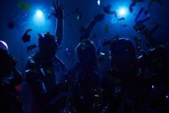 Baile y el animar Fotos de archivo libres de regalías