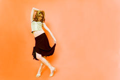 Bailemos.    Fotos de archivo libres de regalías