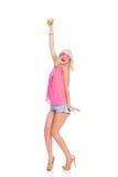 ¡Bailemos y bebamos! Imagenes de archivo