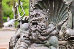 Bailey Fountain - New York City Royaltyfri Fotografi