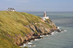 Bailey Lighthouse, Howth, Dublin, Ireland Stock Photo