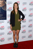 Bailey Noble. At the AFI FEST 2014 Gala Premiere of 'The Homesman' held at the Dolby Theatre in Los Angeles on November 11, 2014 Royalty Free Stock Photos