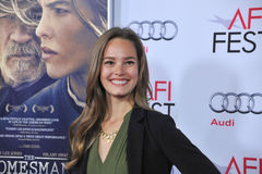 Bailey Noble. LOS ANGELES, CA - NOVEMBER 11, 2014: Bailey Noble at the gala screening of The Homesman as part of the AFI Fest 2014 at the Dolby Theatre Stock Photo