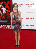 Bailey Noble. At the Los Angeles premiere of Sex Tape held at the Westwood Regency Theatre in Los Angeles, United States, 100714 Royalty Free Stock Photos