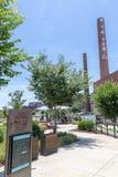 Bailey Park in Winston-Salem, NC stockfotos