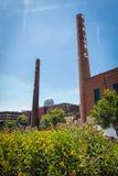 Bailey Park in winston-Salem, NC Royalty-vrije Stock Foto's