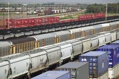Bailey Railroad Yards de Pacifique des syndicats photos stock