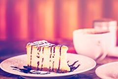 Bailey's cheesecake Royalty Free Stock Photo