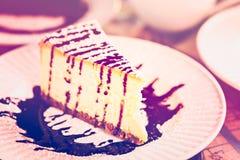 Bailey's cheesecake Stock Photo