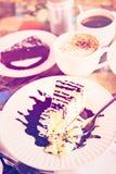 Bailey's cheesecake Stock Photography