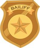 Bailiff Badge Royalty Free Stock Image