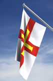 Bailiwick of Guernsey flag royalty free stock image