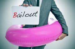 bailout stock fotografie