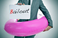 Bailout Stock Photography