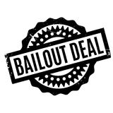 Bailout Deal rubber stamp. Grunge design with dust scratches. Effects can be easily removed for a clean, crisp look. Color is easily changed stock illustration