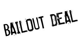 Bailout Deal rubber stamp. Grunge design with dust scratches. Effects can be easily removed for a clean, crisp look. Color is easily changed royalty free illustration