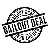 Bailout Deal rubber stamp. Grunge design with dust scratches. Effects can be easily removed for a clean, crisp look. Color is easily changed vector illustration