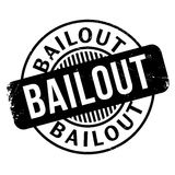 Bailout rubber stamp. Grunge design with dust scratches. Effects can be easily removed for a clean, crisp look. Color is easily changed vector illustration