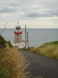 Baily-Leuchtturm auf Howth, Co dublin lizenzfreie stockfotos