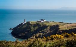 Baily-Leuchtturm - Howth, Grafschaft Fingal, Irland Nachmittags-leicht- Frühling 2017 Lizenzfreies Stockfoto