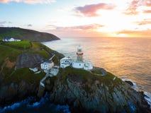 Baily Leuchtturm Howth irland stockfotografie