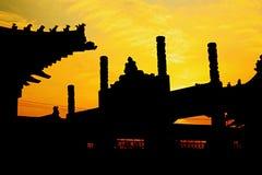 Baimatempel in Luoyang stock fotografie