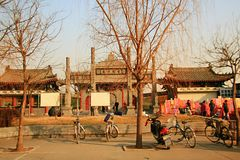 Baimatempel in Luoyang royalty-vrije stock foto