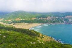 BaiMon strand, DaiLanh, PhuYen, Vietnam Fotografering för Bildbyråer