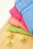 Bain coloré Image stock