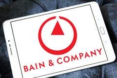 Bain & Company logo Stock Photography
