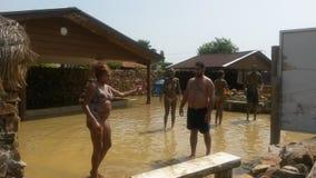 Bain de boue dans dalyan Photo libre de droits