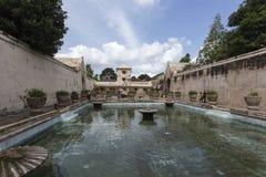 Bain de Plataran Tamansari dans Kraton Photo libre de droits